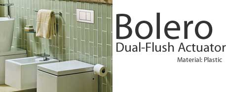 Geberit Bolero Dual Flush Actuators
