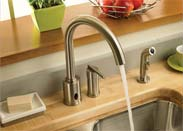 Danze Parma Dual Funtinon Kitchen Faucets