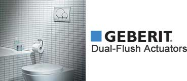 Geberit Dual Flush Actuators