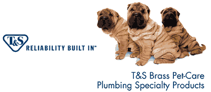 T&S Brass Pet Grooming Faucets